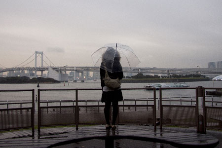 雨の日 デート