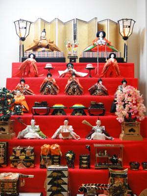 雛人形 7段飾り 飾り方
